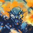 Painting_solomon_Jagwe_Di_War_01