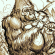 painting_gorilla