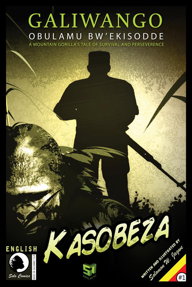 "Galiwango Comic Book, ""Kasobeza"""
