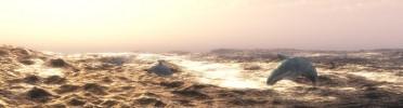 3D Ocean Scape, Dolphin pursuit
