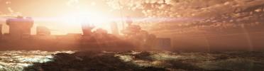 """3D Environment ~ Scene Inspired by """"Battleship"""" Movie"""