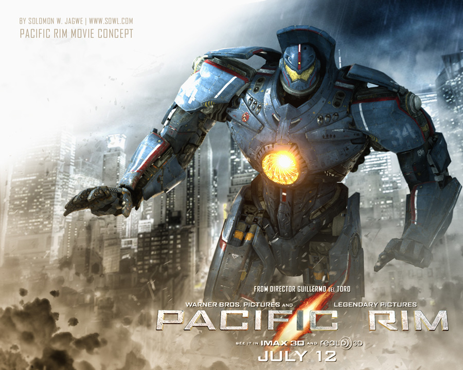 Pacific Rim Film Poster Concept | The Art of Solomon W. Jagwe Pacific Rim Gipsy Danger Poster