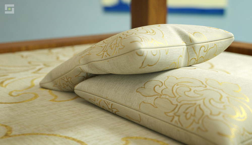 Pillows, Interior Design Props, 3DS Max Plugin