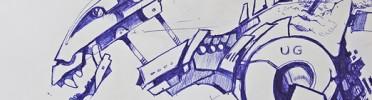 Cheetah Run Concept Sketch