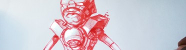 Weekend Concept Drawing ~ UG Mini Bot