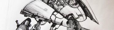 Repulsar Ship Concept, Crayola
