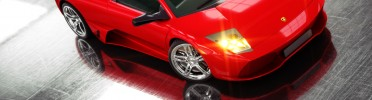 Lamborghini Lighting and Rendering