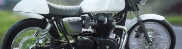 Triumph Bonneville Cafe Racer Texturing, Lighting and Rendering