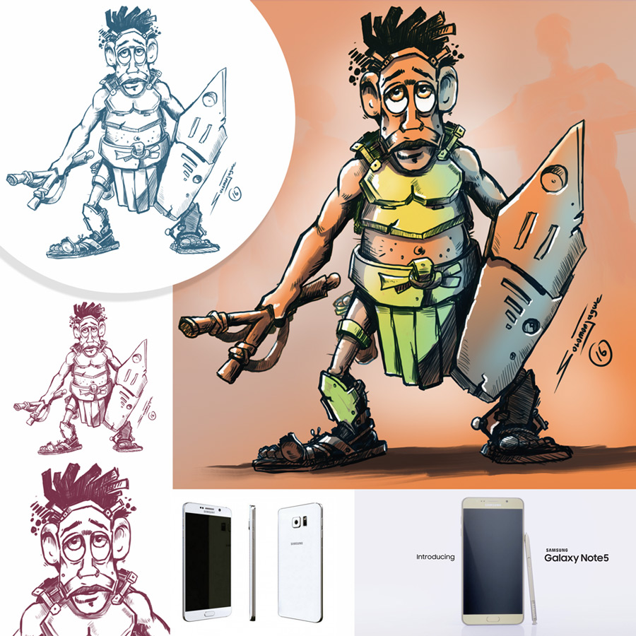 Warrior_Drawing_Solomon_W_Jagwe_00