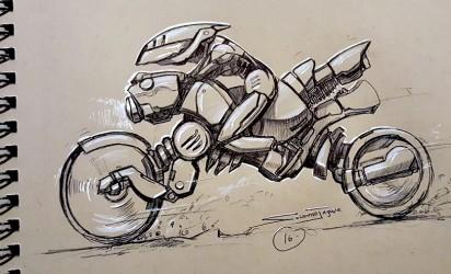 Concept Design, Motor Bike (Boda)
