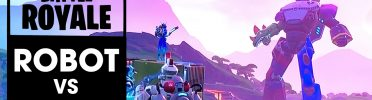 Live Reacting to and Review of Fortnite's Epic Robot vs Monster Fight Event