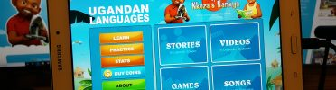 Learning Luganda through the Nkoza and Nankya App for Kids