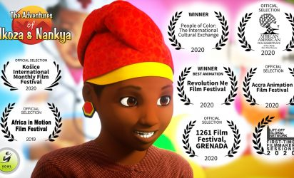 Nkoza and Nankya ~ Enjovu ~ The Elephant Tail Animated Short Film