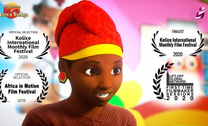 Nkoza and Nankya ~ Enjovu ~ The Elephant Tail Animated Short Film