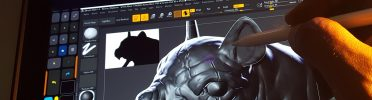 Sculpting in Zbrush 2020 on an iPad Pro & Apple Pencil, using Easy Canvas & Tablet Pro ~ Tutorial