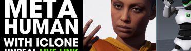 MetaHuman Unreal Engine 3DXchange Template